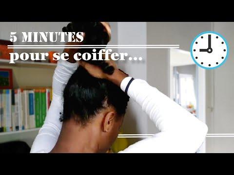 9 Idées coiffures professionnelles faciles en 5 MIN le matin – cheveux crépus (4C, B, A)