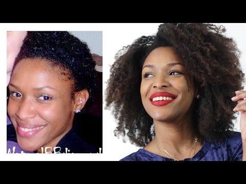 18 CONSEILS • Faire Pousser ses cheveux naturels crépus & les avoir Longs
