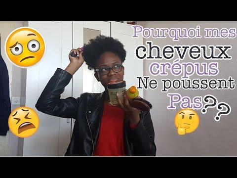 5 RAISONS POURQUOI TES CHEVEUX CRÉPUS NE POUSSENT PAS ?!!
