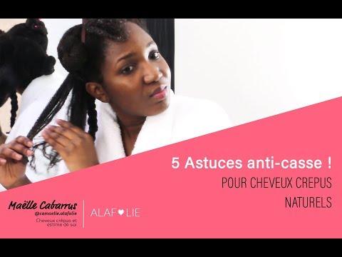 5 astuces anti casse pour cheveux crepus naturels | POUSSE DES CHEVEUX CREPUS