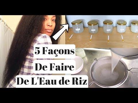 5 Façons de Faire de L'Eau de Riz Pour La Pousse Des Cheveux | Zéro Gaspillage