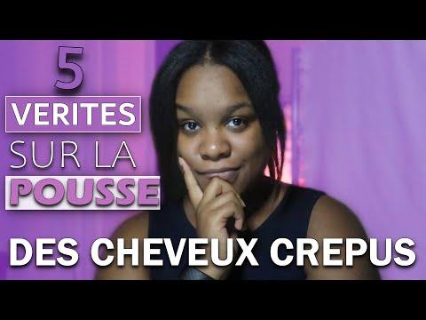 5 VERITES SUR LA POUSSE DES CHEVEUX CREPUS | avoir cheveux crepus long – hydratation – casse