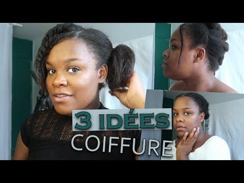 3 IDÉES COIFFURE CHEVEUX CRÉPUS | cheveux afro | cheveux naturels & en transition