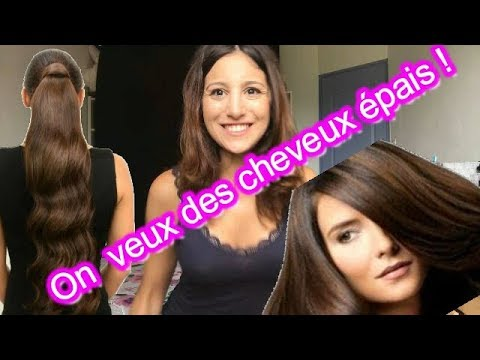3 Astuces magiques : Donner volume et densité aux cheveux fins et peu nombreux !!!