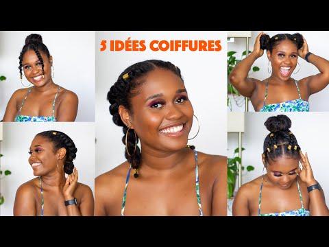 5 idées #coiffures protectrices  sur #cheveuxcrépus   Curiozité