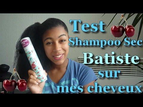 #12-Test/démo Shampoo sec Batiste sur mes cheveux épais/frisés! Un truc qui marche?