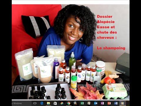 Le shampoing : Alopécie, casse et chute des cheveux