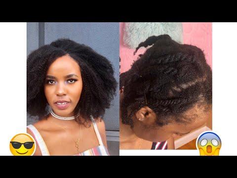 Comment coiffer ses cheveux crépus/clips/alopécie 2019