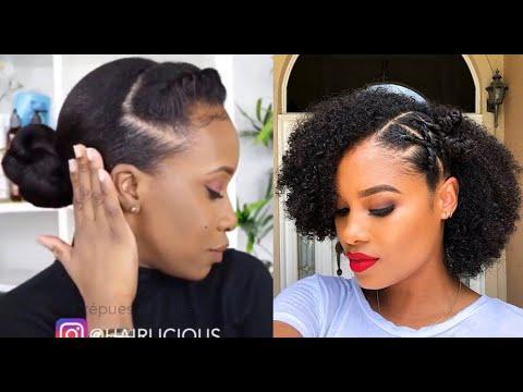 Comment se coiffer sans rajouts quand on a les cheveux crépus ? 10 tutoriels faciles