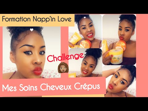 ✨COMMENT JE FAIS POUSSER MES CHEVEUX CRÉPUS | CHALLENGE LONGUEUR + NOUVELLE ROUTINE CAPILLAIRE🌻♥️✨