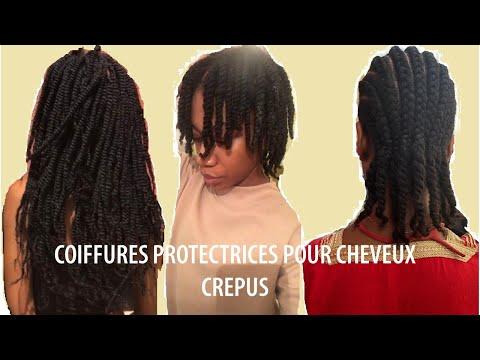 Le B.A-BA des coiffures protectrices | Cheveux crépus | Retention de longueur