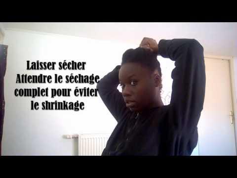 #17 : DES CHEVEUX DOUX ET DÉMÊLES / Routine post lavage [cheveux crépus] compo vapo et démelage
