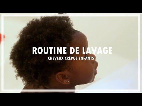 ROUTINE LAVAGE CHEVEUX CRÉPUS ENFANTS || Lue Exina