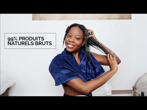 Routine Shampoing BASIQUE Cheveux Crépus 4C (Après Dreadlocks)
