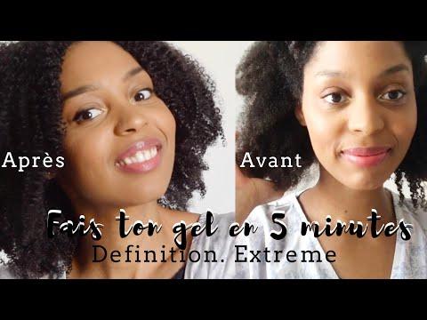 Gel 100% naturel Definition extrême I Cheveux crépus bouclés