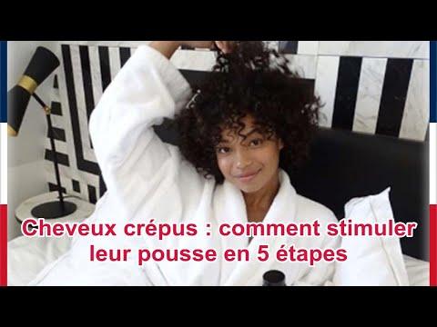 Cheveux crépus : comment stimuler leur pousse en 5 étapes