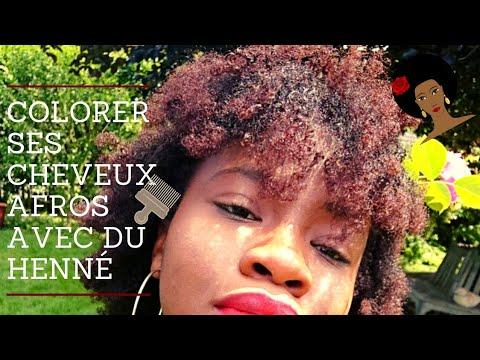 COMMENT COLORER SES CHEVEUX CRÉPUS AVEC DU HENNE? Coloration Rouge Naturelle