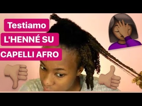 TEST: HENNE' SUI CAPELLI AFRO, top o flop?