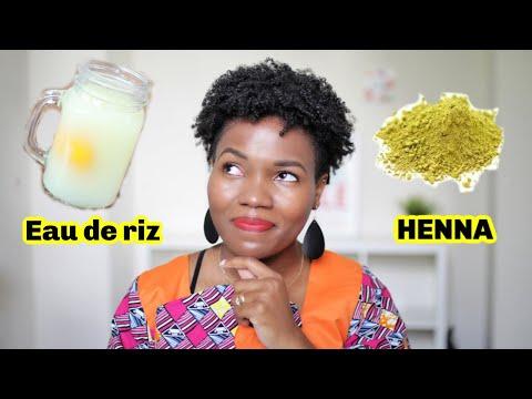 EAU DE RIZ Vs Henné Sur Les Cheveux Naturels Crépus – LEQUEL EST MIEUX?