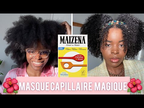 Masque définissant les boucles sur cheveux CRÉPUS