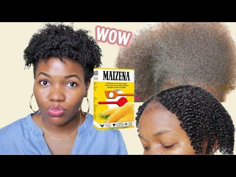 MAIZENA Cheveux Crépus – NATUREL DÉFRISANT ! ASSOUPLISSANT ! LISSE / BOUCLE ? JE VOUS DIS TOUT