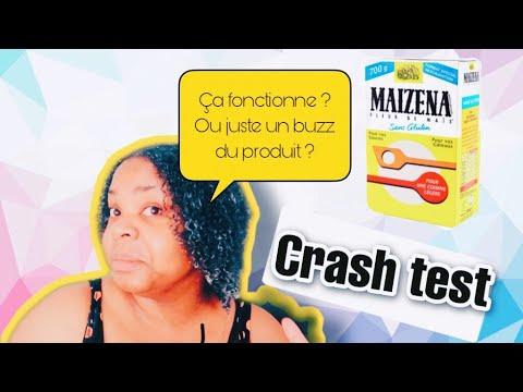 COMMENT ASSOUPLIR SES CHEVEUX AVEC MAÏZENA ? | ÇA FONCTIONNE ? | CRASH TEST 💆🏾♀️
