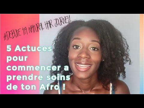 Cheveux Crépus : 5 Astuces pour commencer à prendre soins de tes Cheveux Afro