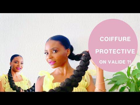 COMMENT FAIRE UNE COIFFURE PROTECTRICE  – SUR CHEVEUX CREPUS – PROTECTIVE STYLE