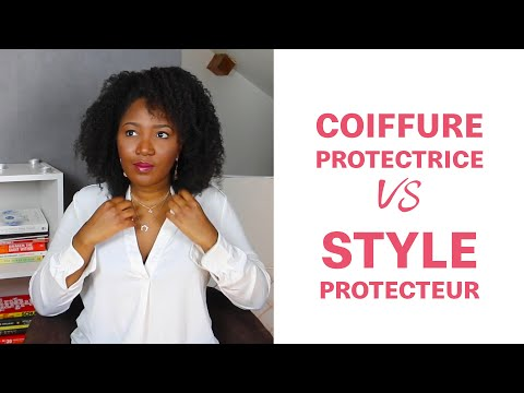 Coiffure protectrice vs style protecteur