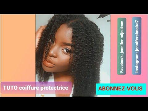 Coiffure protectrice [ tuto cheveux]