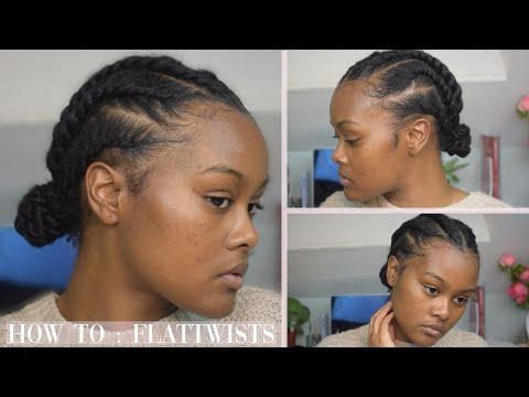 Ma Coiffure Protectrice Du Moment : Flat twists  !