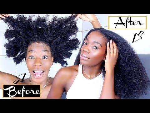 Routine capillaire spéciale coiffure protectrice ⎟Cheveux naturels bouclés, frisés, crépus