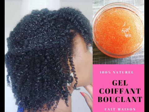 🌺 20. DIY │Gel coiffant bouclant 100% naturel, maintient les boucles de cheveux 4C plus longtemps 👌