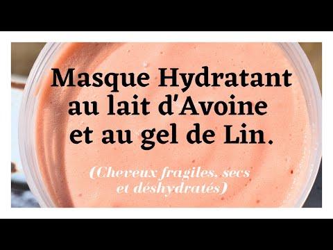 🌺35. DIY│Cheveux fragiles, secs et déshydratés : Masque Hydratant au lait d'Avoine et au gel de Lin