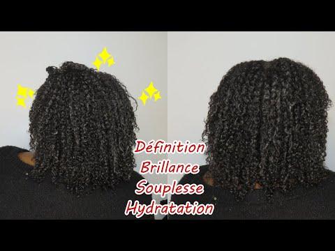 Le gel de lin sur mes cheveux crépus: BRILLANCE, SOUPLESSE, HYDRATATION…