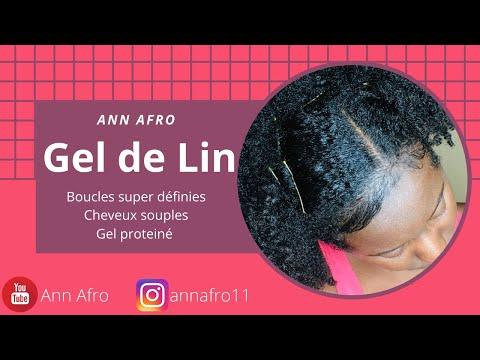 GEL DE LIN NATUREL: Boucler et hydrater les cheveux !!!