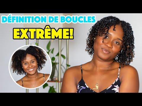 Définition de boucles extreme sur cheveux crépus #WashAndGo