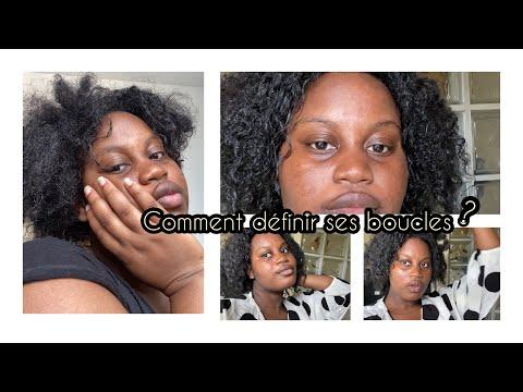 COMMENT DÉFINIR SES BOUCLES SUR CHEVEUX CRÉPUS :❗️tout type de cheveux(masque fructis garnier) #tuto