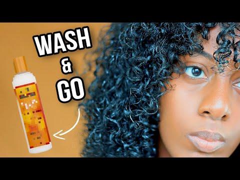 WASH & GO (sans gel) Super RAPIDE, DÉFINITION des Boucles + Volume   Cheveux Bouclés & Crépus
