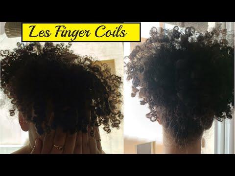 Finger Coils et Shingling: Définir tout types de boucles 😍