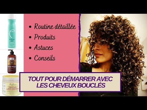 Cheveux bouclés: Routine pour définition et volume   Curly hair washday routine