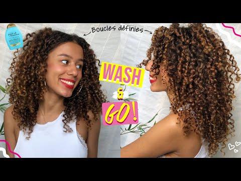 COMMENT AVOIR DES BOUCLES ULTRA DEFINIES | Routine Cheveux Bouclés 😍➰