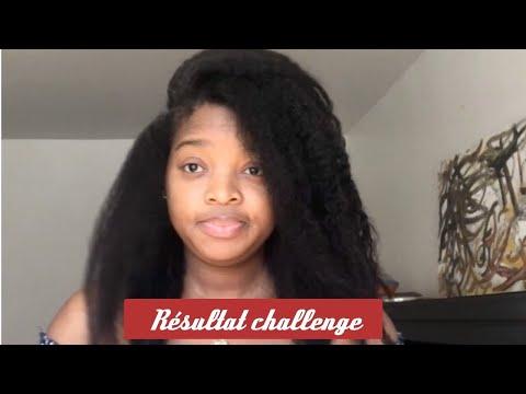 Résultat challenge pousse cheveux 2020 (25 janvier-25 avril
