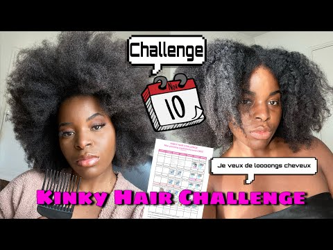 KINKY HAIR CHALLENGE NOVEMBRE