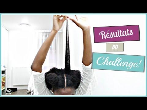 Résultats CHALLENGE POUSSE RAPIDE, Hydratation et tempes