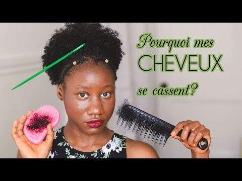 Cheveux Crépus – Pourquoi les cheveux crépus sont cassants?