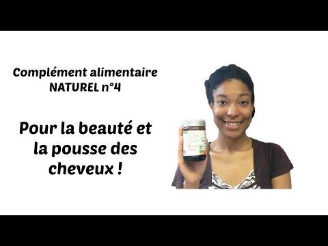 Complément alimentaire NATUREL n°4 pour la pousse et la beauté des cheveux!