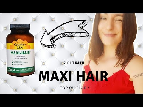 Maxi hair  : la solution miracle pour la pousse des cheveux ?