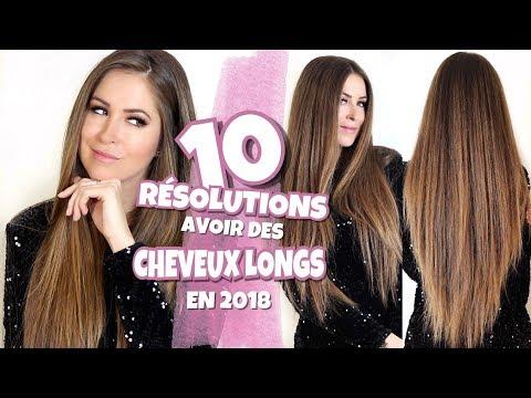 › Comment faire pousser ses cheveux plus vite? | 10 résolutions pour 2018!! ✔️