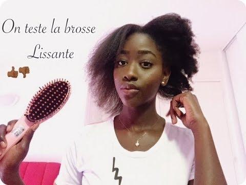 BROSSE LISSANTE SUR CHEVEUX 4C | TEST|